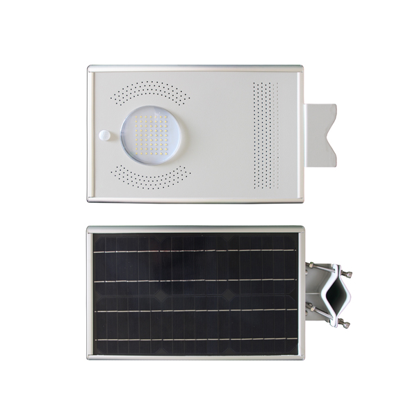 8-12w integrated solar street light