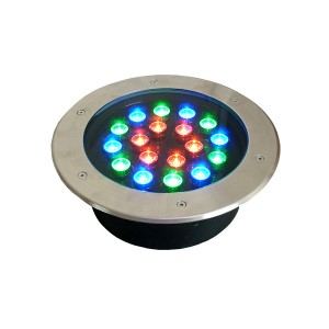 rgb dmx stainless led underground light
