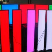 rgb led panel light details