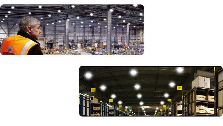 UFO LED high bay light application(1)