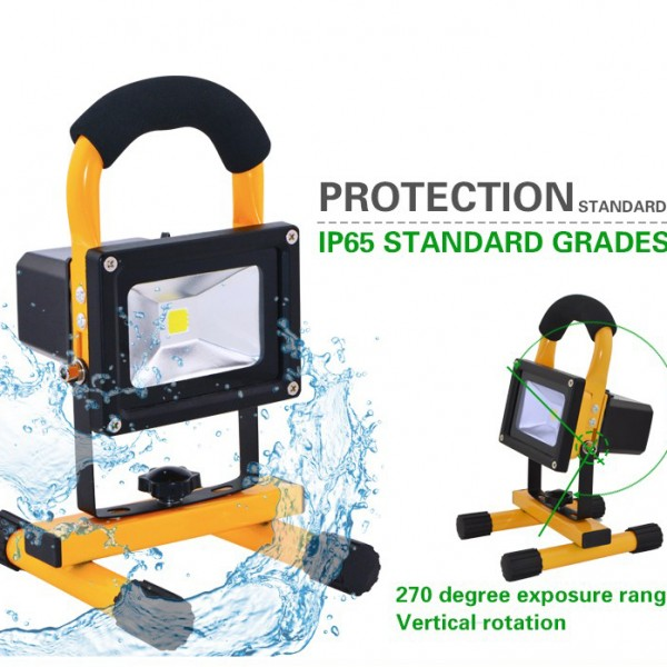 led rechargeable flood light(2)