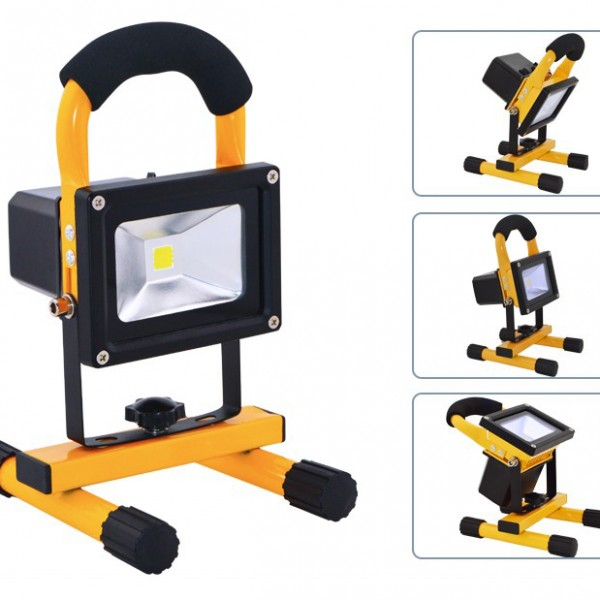 led rechargeable flood light(4)