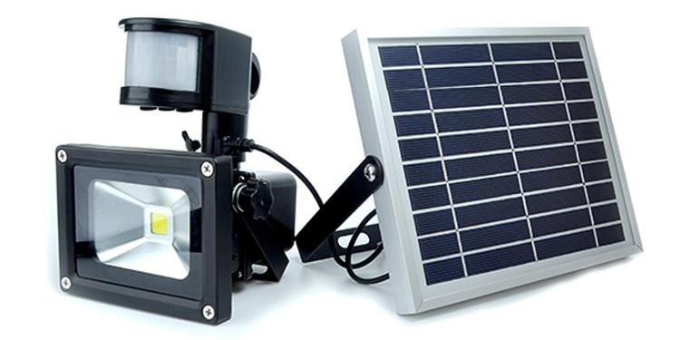 solar rechargeable led flood light(17)
