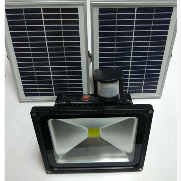 solar rechargeable led flood light(22)