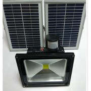solar rechargeable led flood light(26)