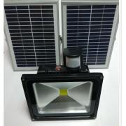 solar rechargeable led flood light(26)