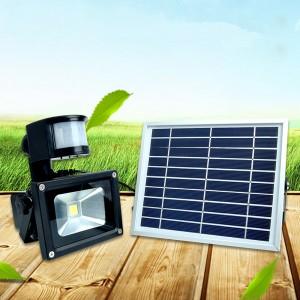 solar rechargeable led flood light(5)