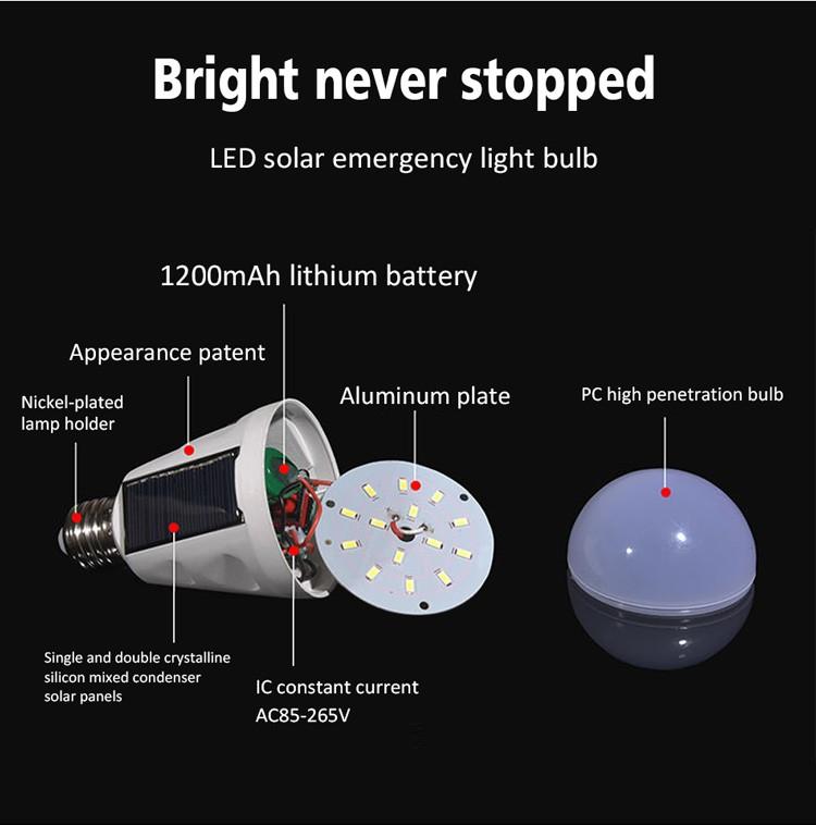 solar led bulb light(18)