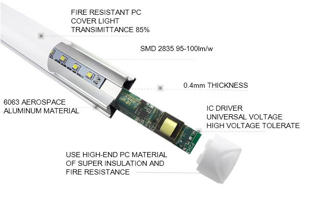 led tube light t5 driver inside(5)