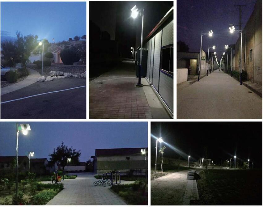 solar powered garden street lamps(6)