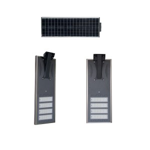 solar powered led parking lot light