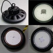 100W 150W 200W UFO LED high bay light IP65 CE SAA led warehouse shed fixture (3)