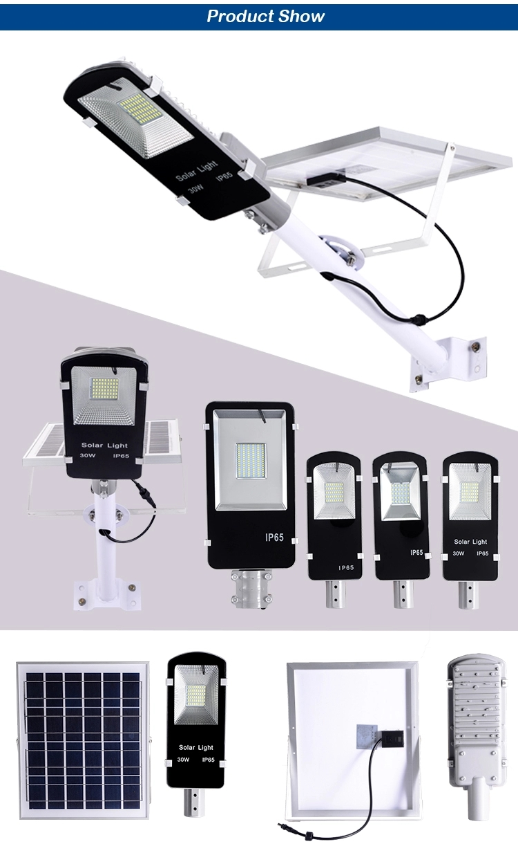 10W 20W 30W 50W 120W Outdoor Ip65 Solar Power Integrated Led All In One Solar Street Light (5)