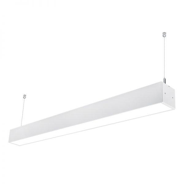 7575 aluminum profile 40w 1200mm LED Suspended Lighting Linkable Linear Light Fixtures for Supermarket Warehouse (2)