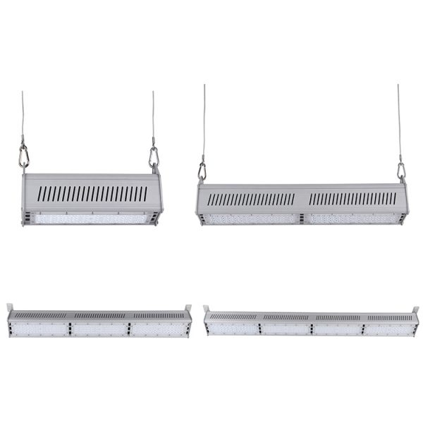 CE ROHS SAA ETL Approved 130lmw IP65 LED Linear Highbay 200watts For Warehouse (8)