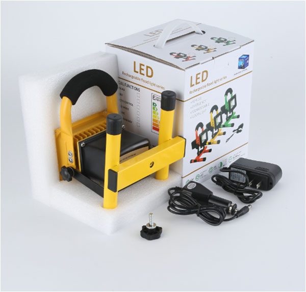 rechargeable flood package
