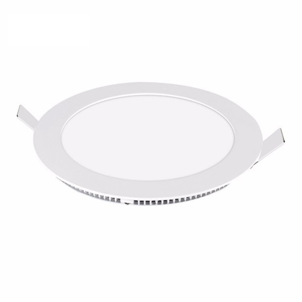 led panel light round 18w