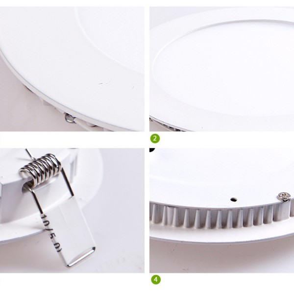 led round panel light details