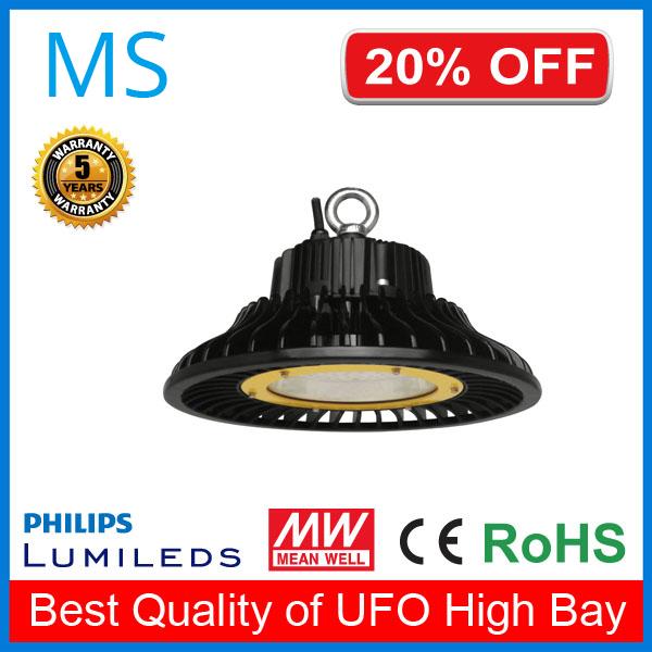 Ce Rohs Certified Nichia Chip 200w Ufo Led High Bay Light
