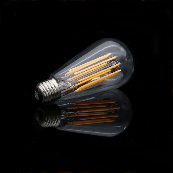 ST64 edison led filament light