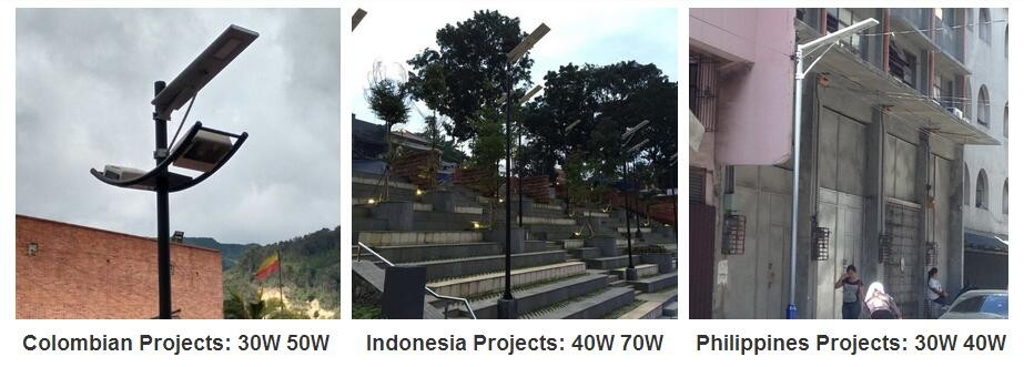 all in one solar street light application(2)