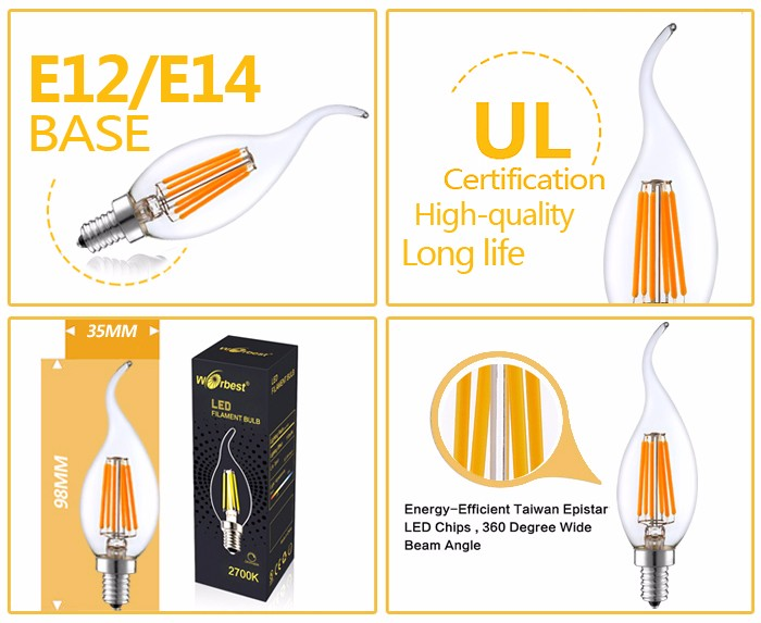 c35 filament led candle light(2)