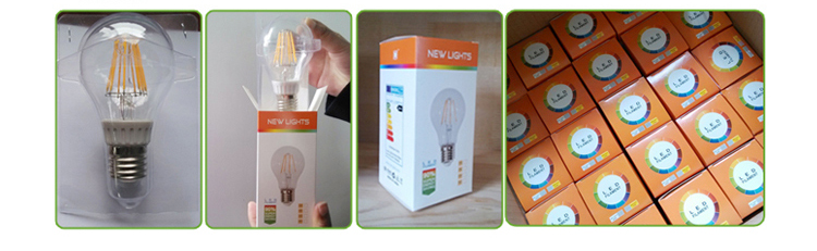 led filament light bulb package