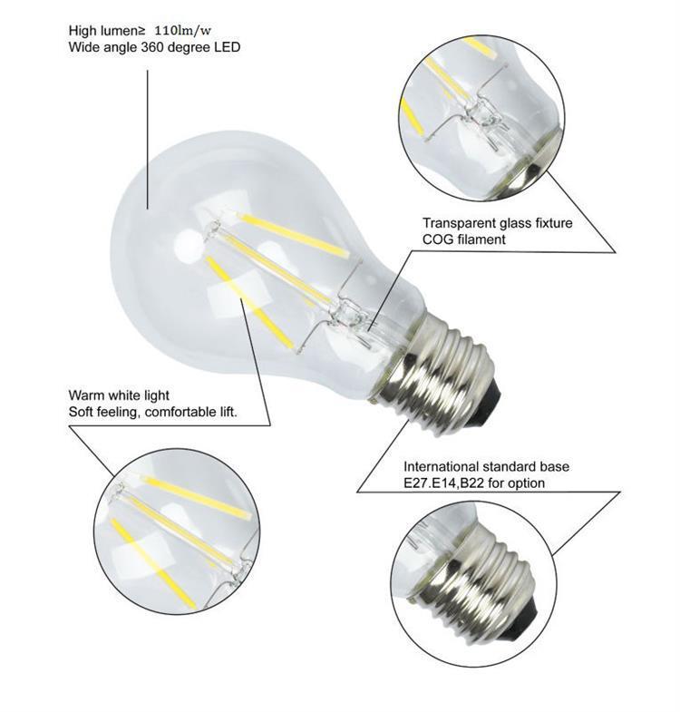 led filament light details
