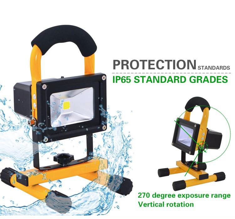 led rechargeable flood light(2)