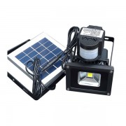 solar rechargeable led flood light(18)
