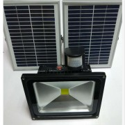 solar rechargeable led flood light(22)