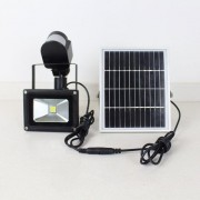 solar rechargeable led flood light(23)
