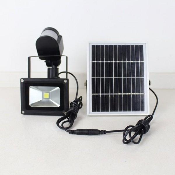 solar rechargeable led flood light(23)
