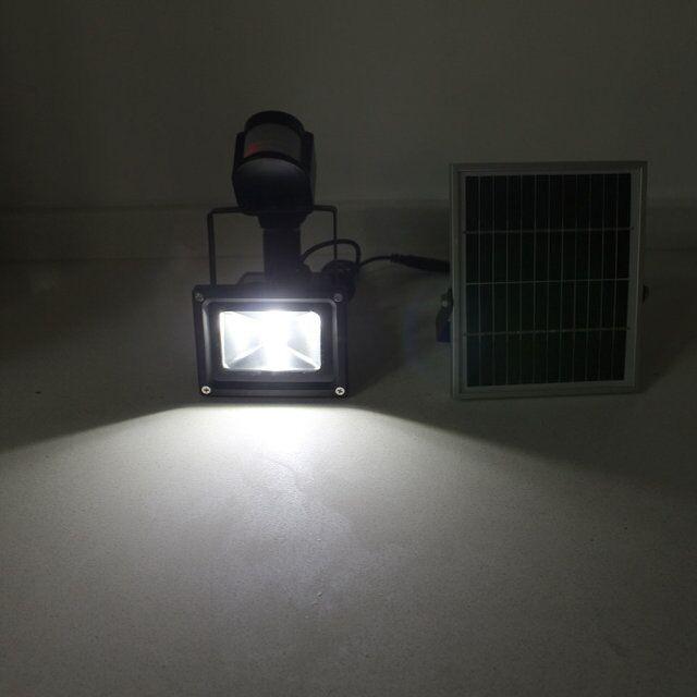 solar rechargeable led flood light(25)