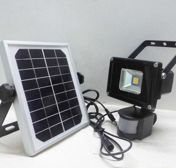 solar rechargeable led flood light(27)