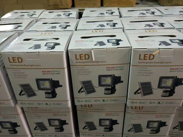 solar rechargeable led flood light(6)