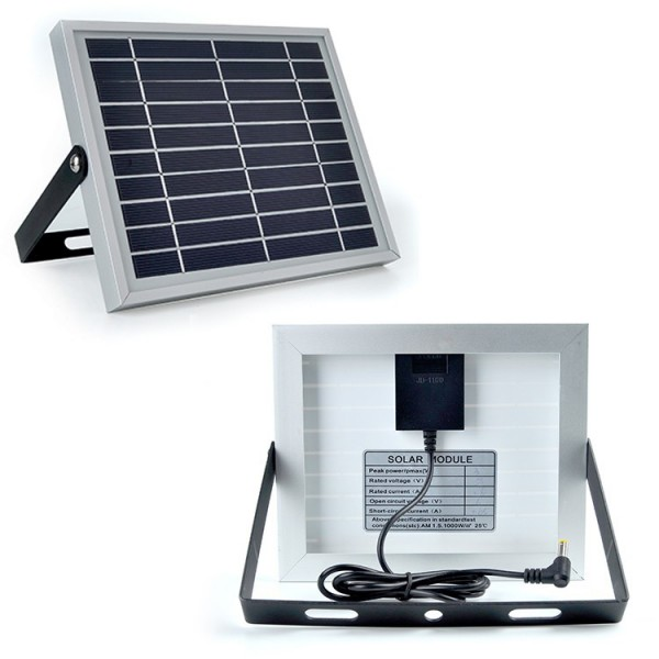 solar rechargeable led flood light(9)