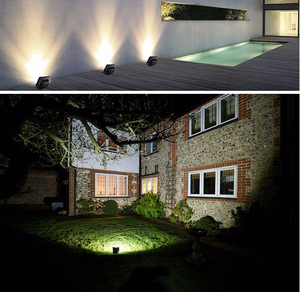 200W led floodlight applications