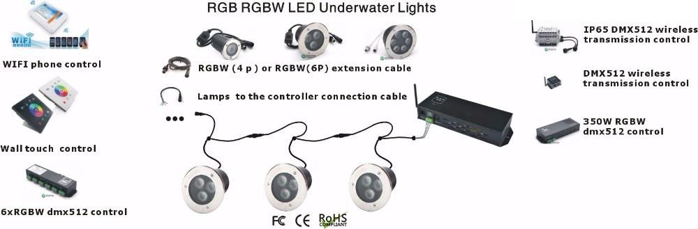 led underground light DMX 24V(3)