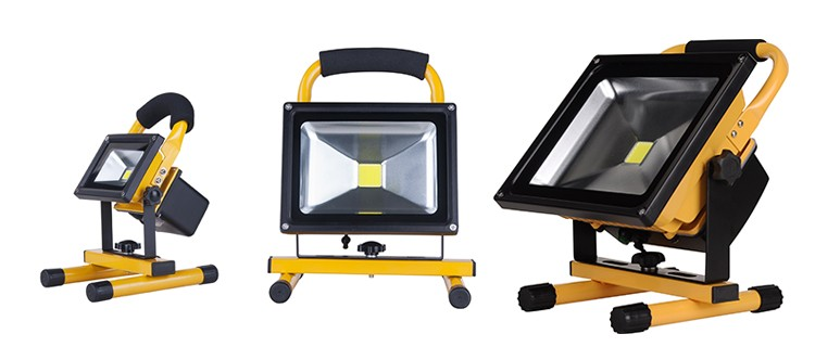 rechargeable led floodlight 20w(4)
