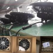 100W 150W 200W UFO LED high bay light IP65 CE SAA led warehouse shed fixture (4)