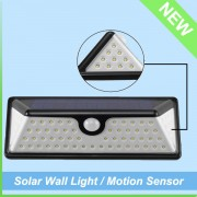 IP65 Waterproof Outdoor Washer Motion Sensor Solar LED Wall Light (6)