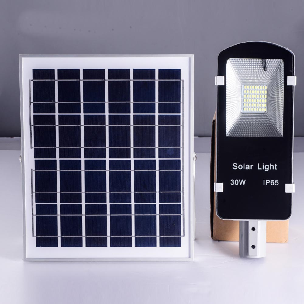 10w 20w 30w 50w 120w Outdoor Ip65 Solar Power Integrated Led All In Panel Wiring Diagram One Street Light Wuhan Minsens Technology Co Ltd