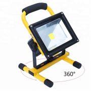 30 Watts Indoor Outdoor LED Flood Light IP 65 Waterproof Rechargeable Portable Job Site Work Light (1)