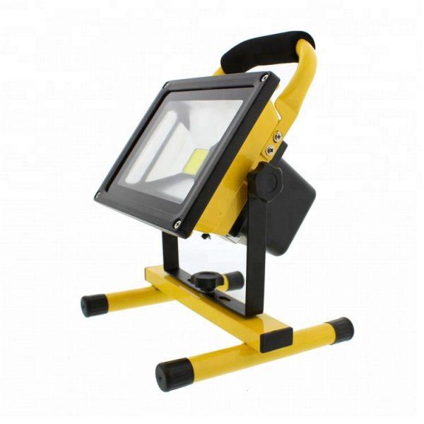 30 Watts Indoor Outdoor LED Flood Light IP 65 Waterproof Rechargeable Portable Job Site Work Light (3)