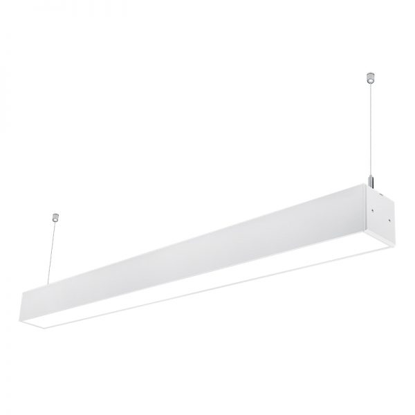 7575 aluminum profile 40w 1200mm LED Suspended Lighting Linkable Linear Light Fixtures for Supermarket Warehouse (2)
